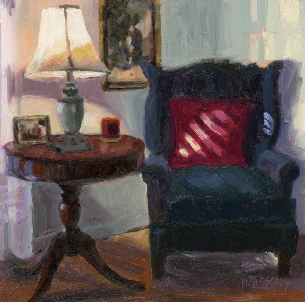 """My Corner of the World"" original fine art by Nancy Parsons"