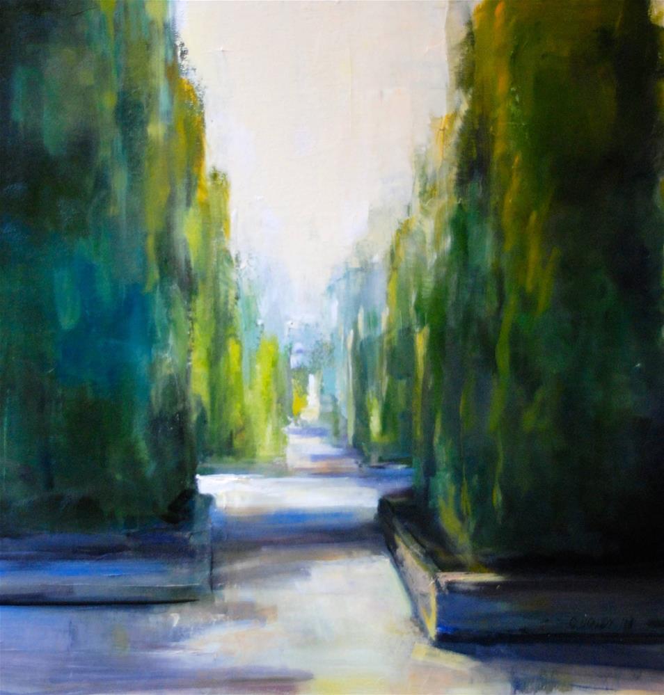 """Untitled"" original fine art by Christina Dowdy"