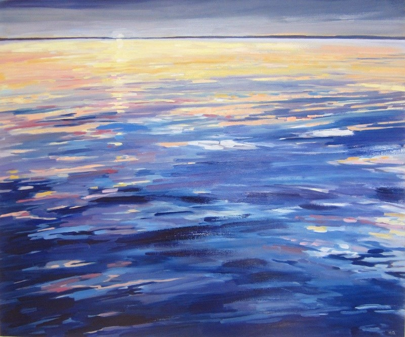 """Eventide"" original fine art by Nicki Ault"