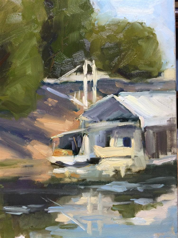 """Walnut Grove, CA"" original fine art by Naomi Bautista"