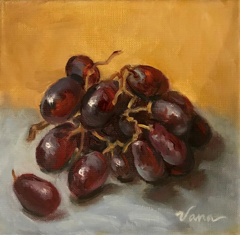 """Just Grapes"" original fine art by Vana Meyers"
