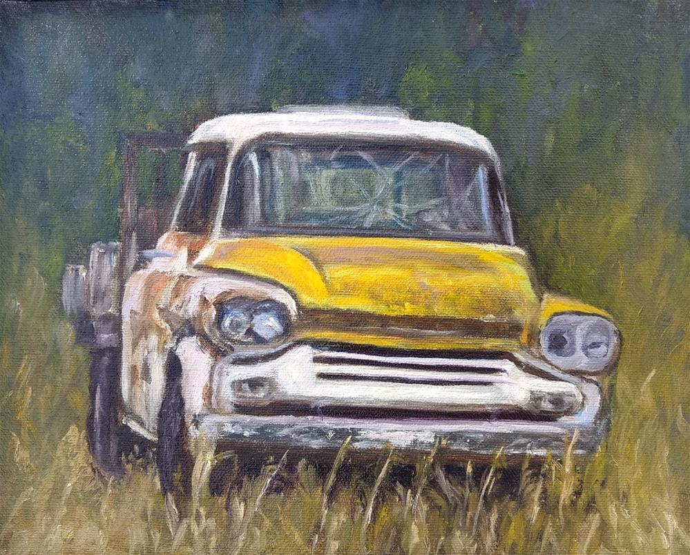 """""""Seen Better Days"""" original fine art by Candi Hogan"""