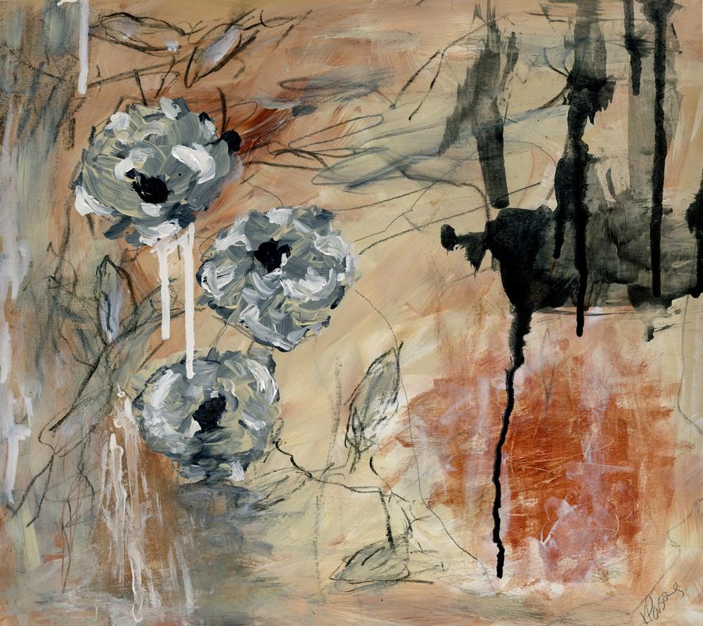 """All Flowers Keep their Light"" original fine art by Kali Parsons"