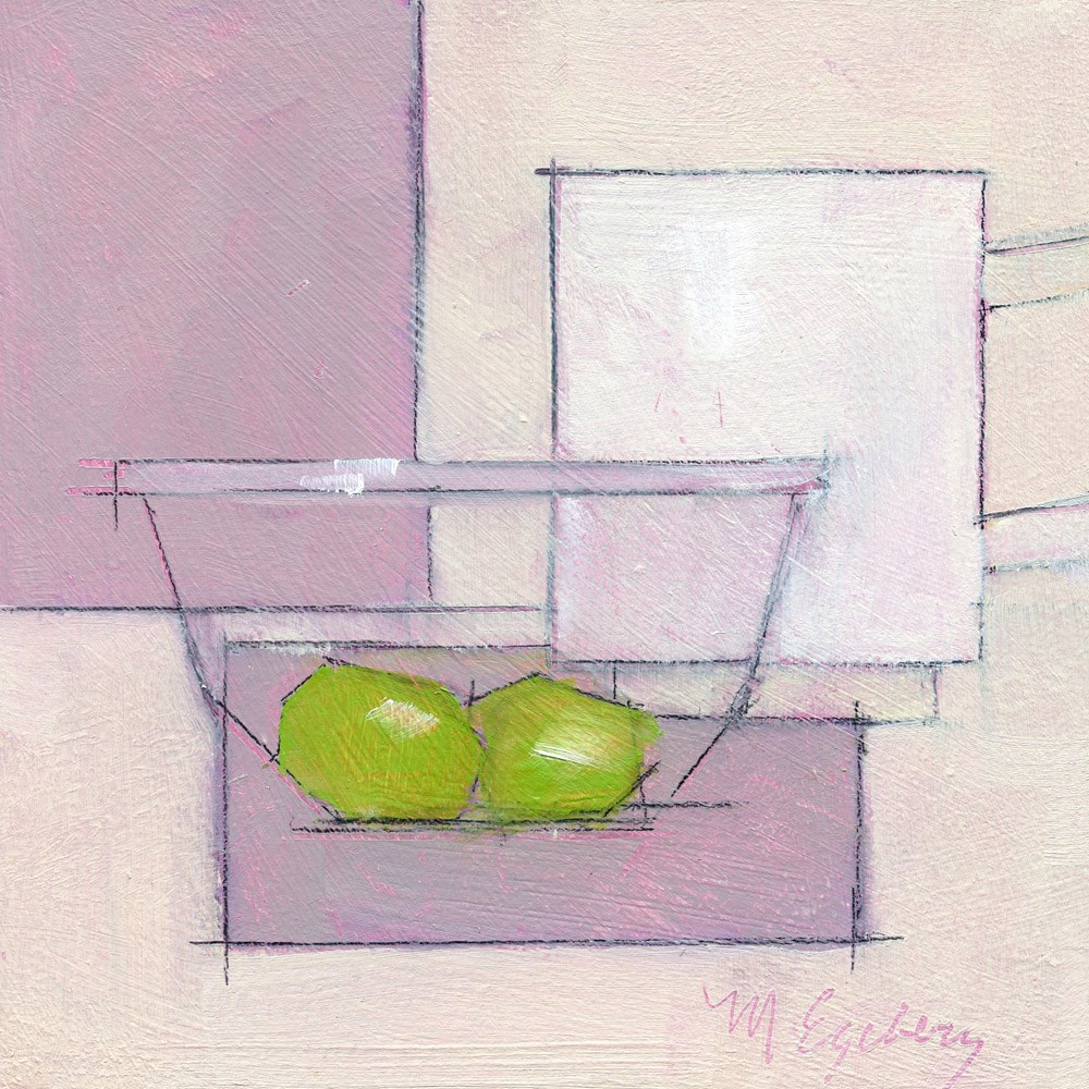 """A Couple of Grapes"" original fine art by Mitch Egeberg"