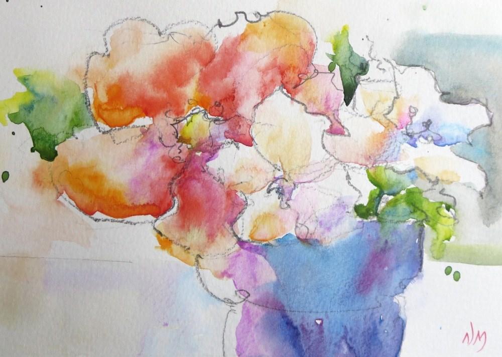 """hope so"" original fine art by Nora MacPhail"
