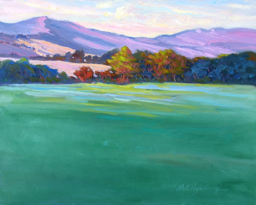 """Last Light of the Day"" original fine art by Rhett Regina Owings"