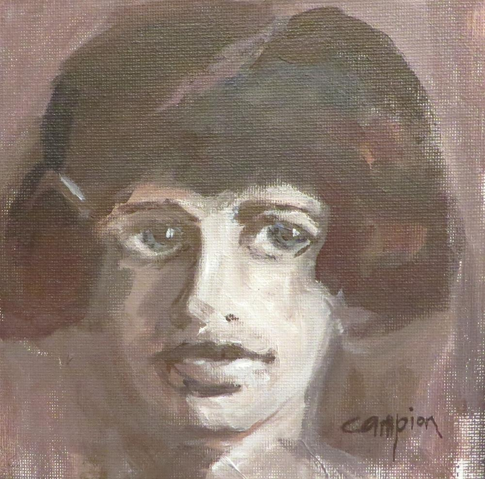 """""""746 The Eldest Daughter"""" original fine art by Diane Campion"""