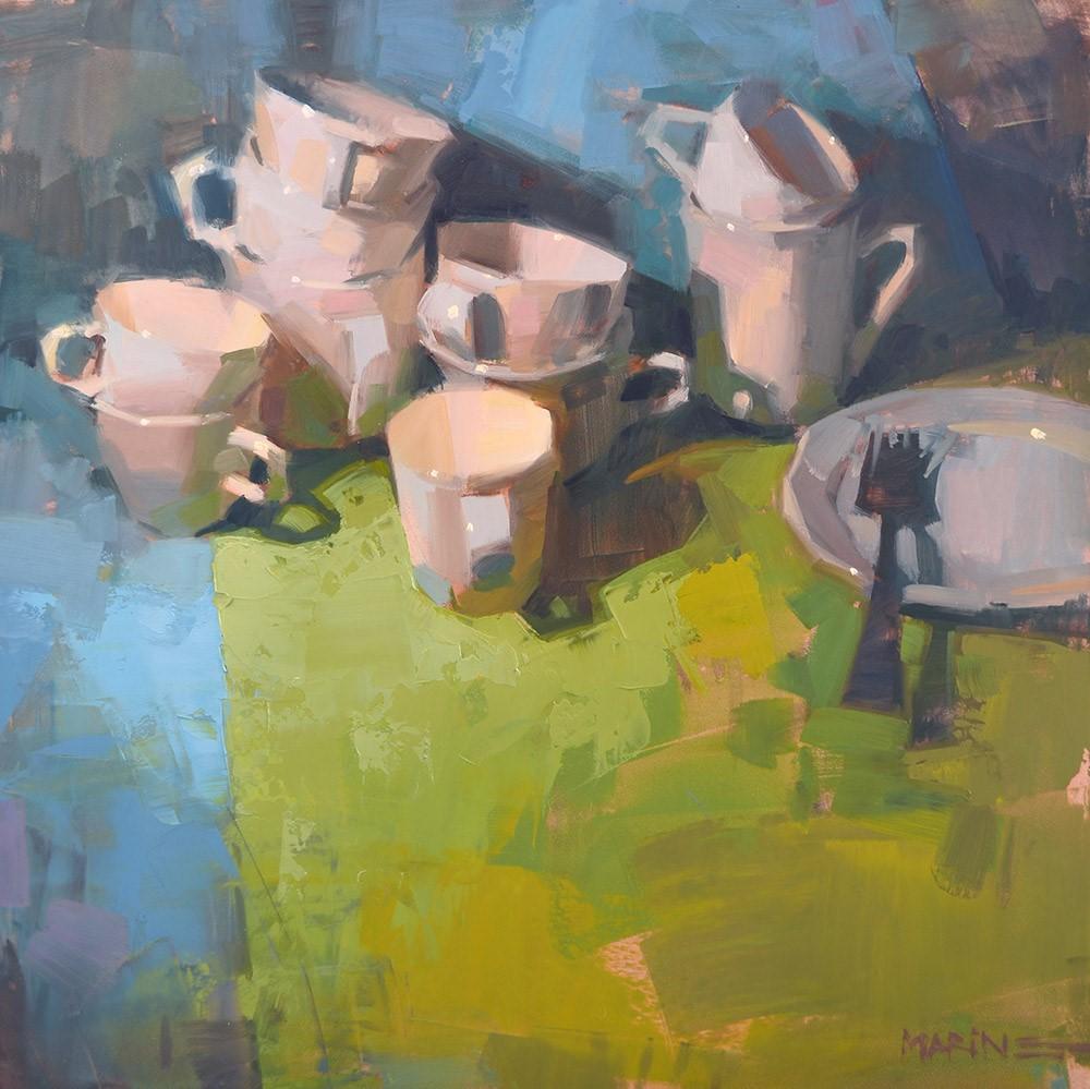 """""""Lone Fork"""" original fine art by Carol Marine"""