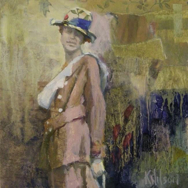 """""""Blue Band"""" original fine art by Katie Wilson"""