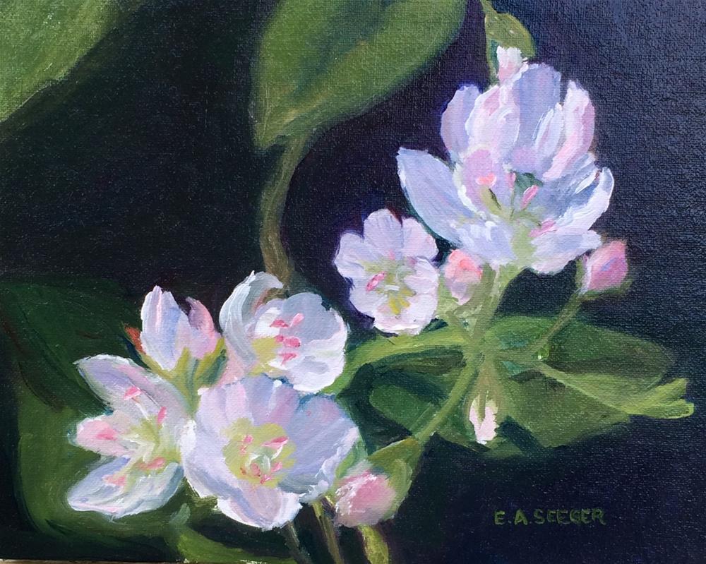 """Spring"" original fine art by Elisabeth Seeger"