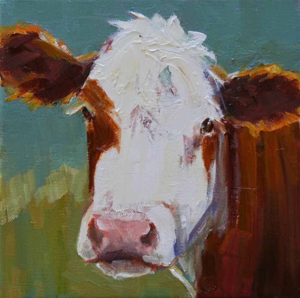 """dazed and confused"" original fine art by Carol Carmichael"
