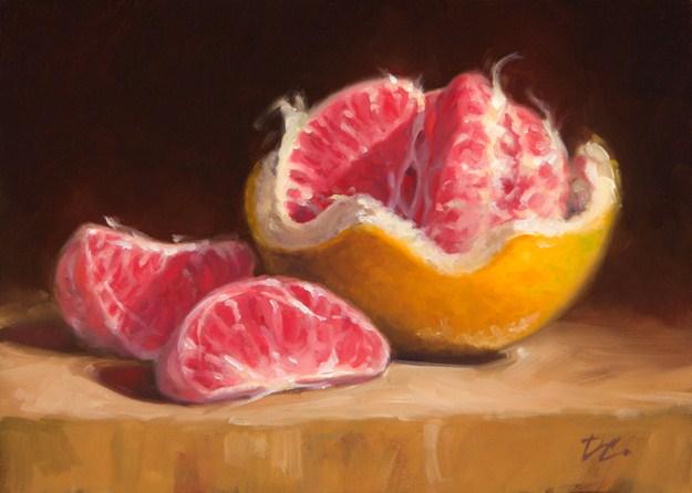 """Opened Up #2"" original fine art by David Capalungan"