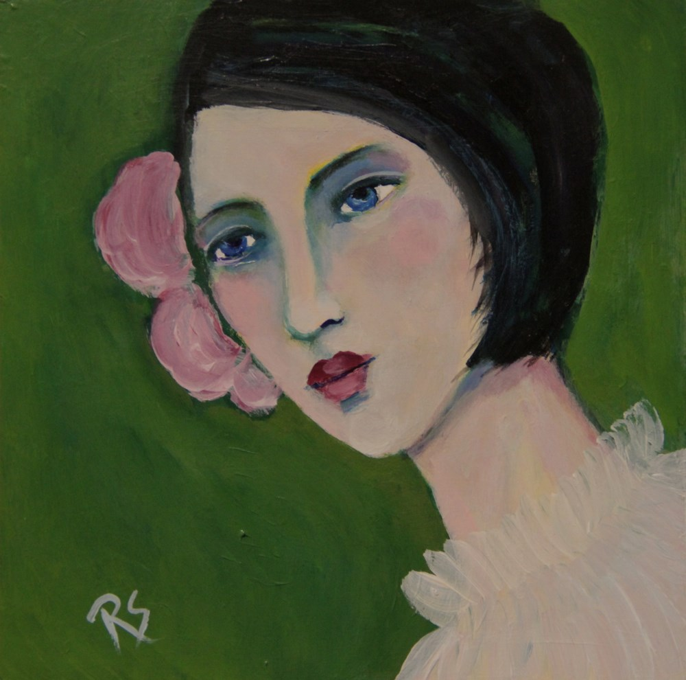 """Marianne"" original fine art by Roberta Schmidt ArtcyLucy"