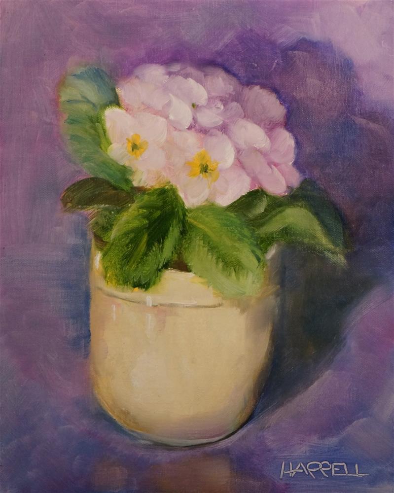 """Lavender Blue"" original fine art by Sue Harrell"