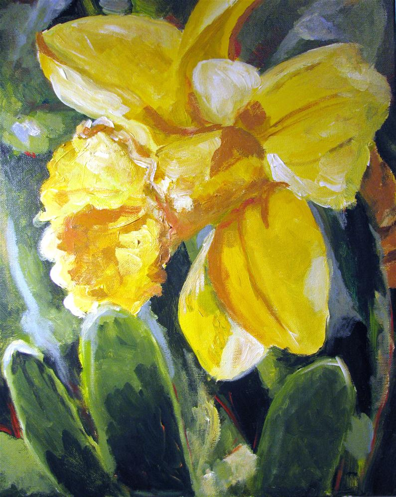 """Buttercup"" original fine art by Susan Elizabeth Jones"