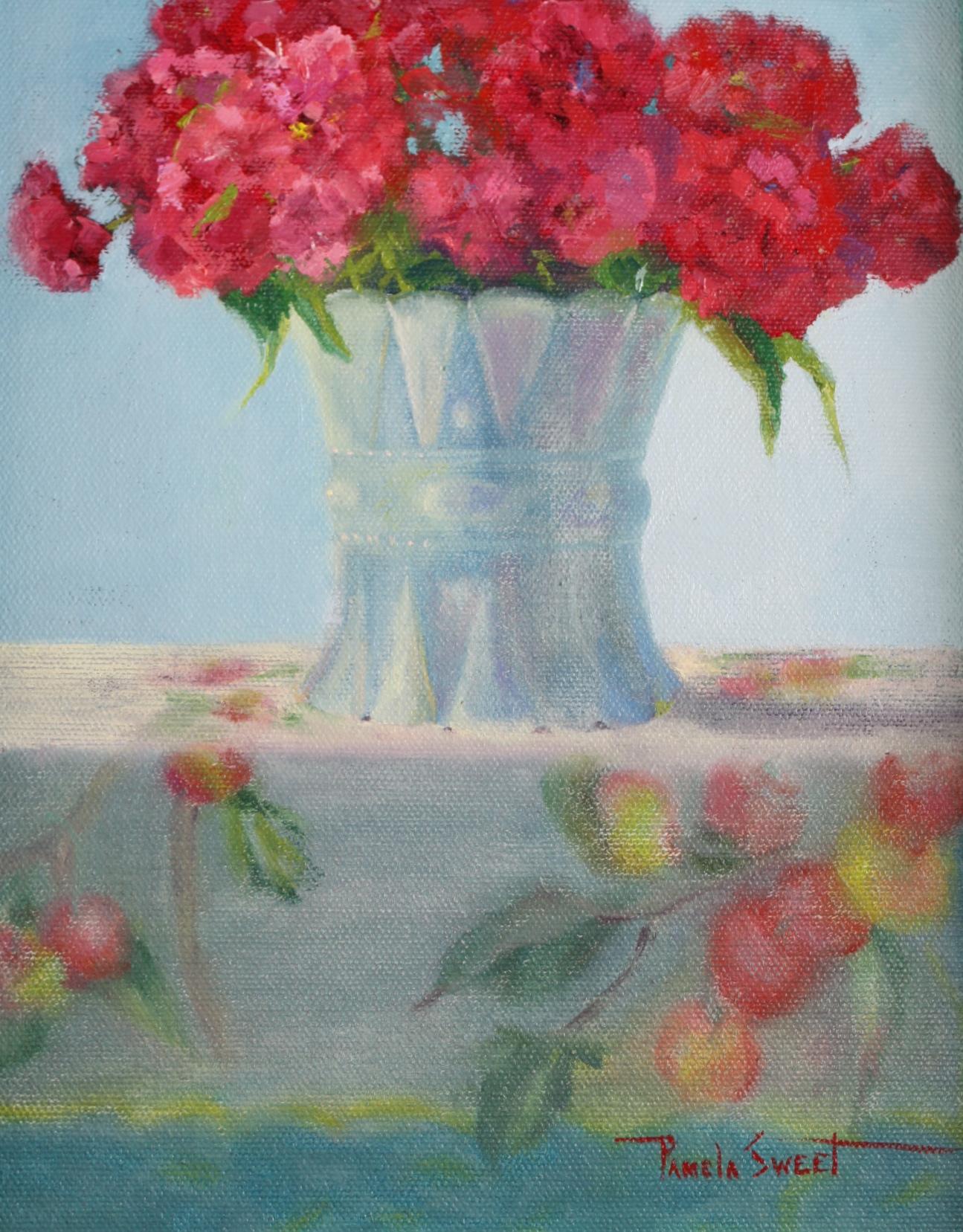 """Sweet William"" original fine art by Pamela Sweet"