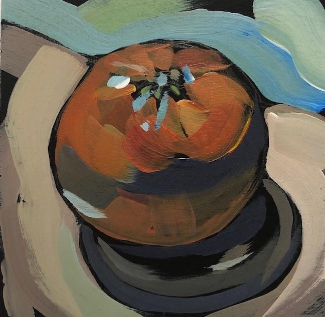 """Oh My Darling, Clementine!"" original fine art by Kat Corrigan"
