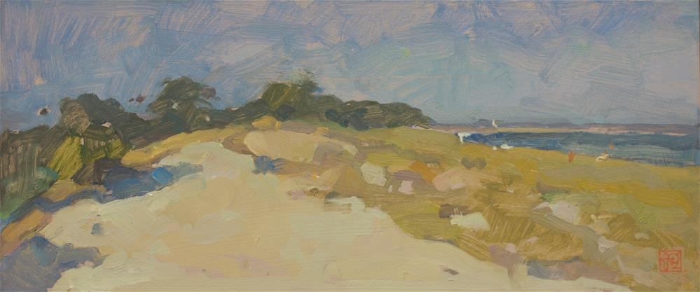"""White Sands"" original fine art by Natalia Avdeeva"