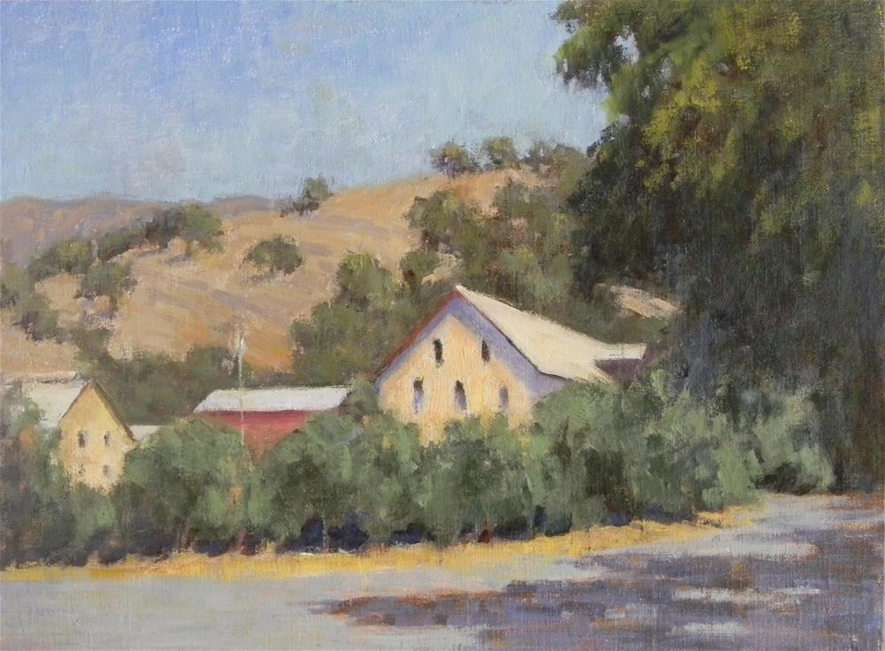 """""""Wine Country Morning"""" original fine art by Barbie Smith"""