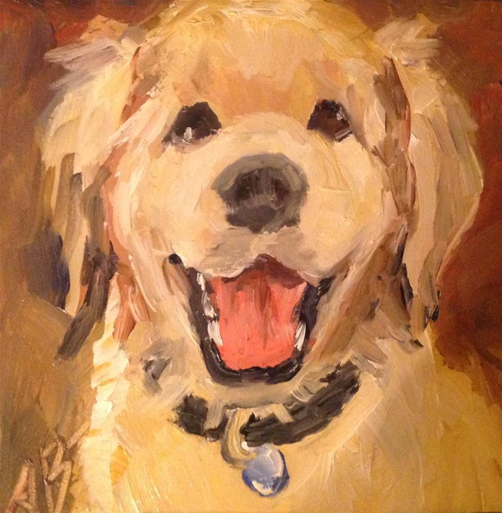 """Happy Happy"" original fine art by Annette Balesteri"