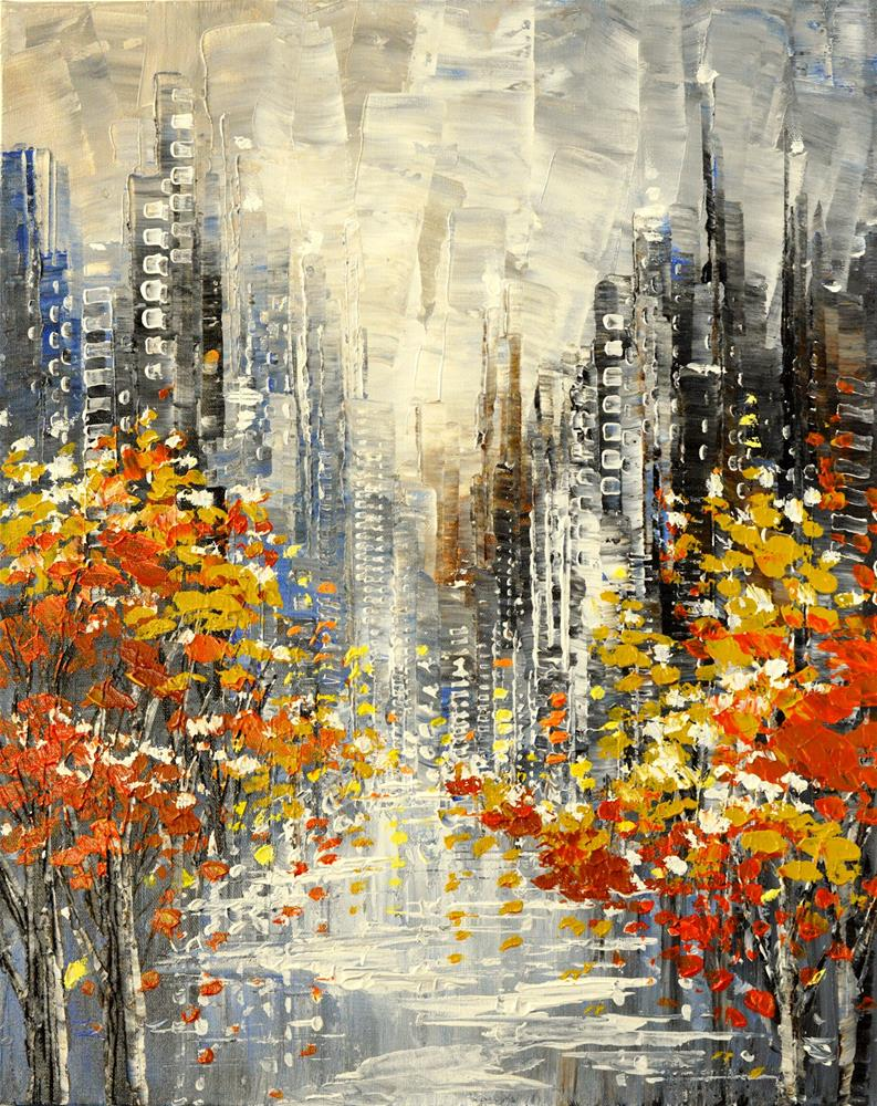 """Unexpected Guest"" original fine art by Tatiana Iliina"