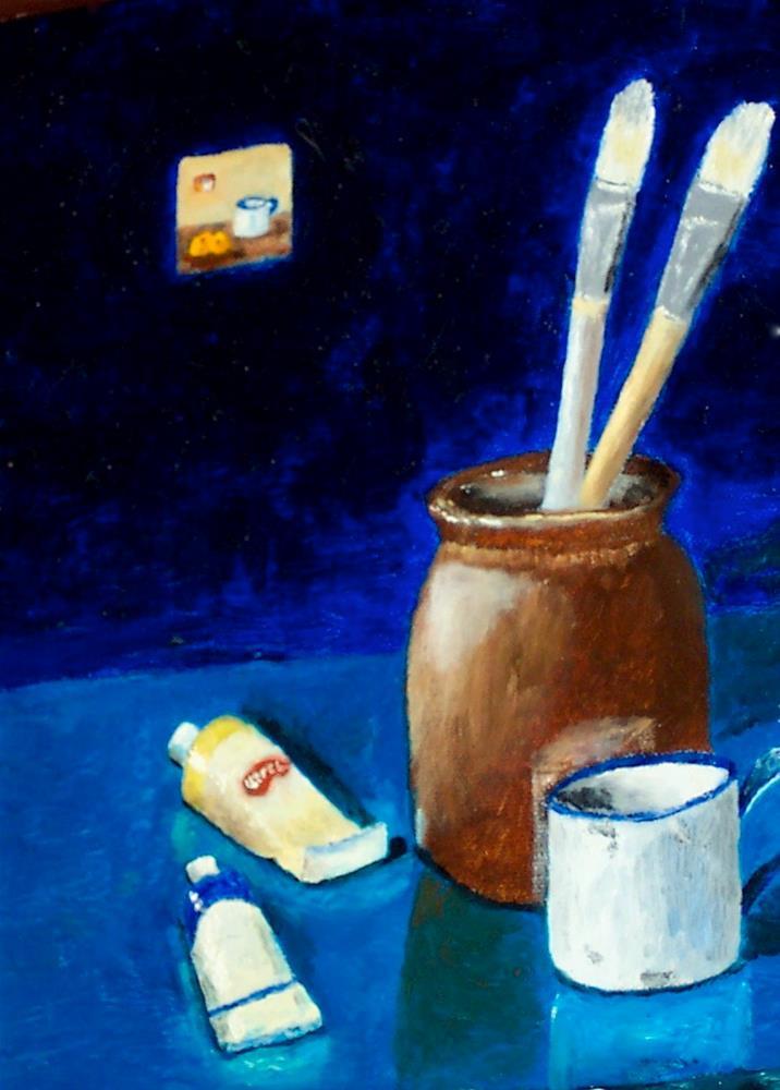 """Studio"" original fine art by Bob Blackmon"