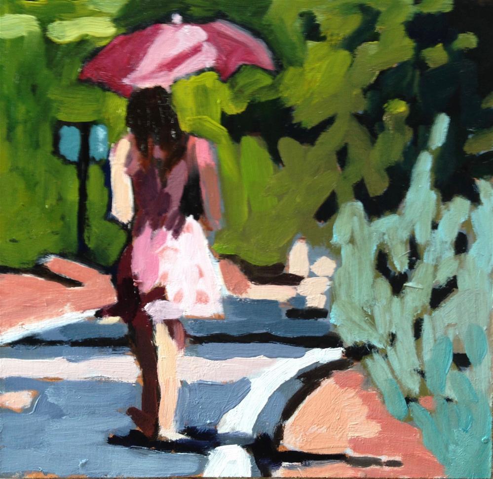 """""""Sashay-ing"""" original fine art by Pamela Hoffmeister"""