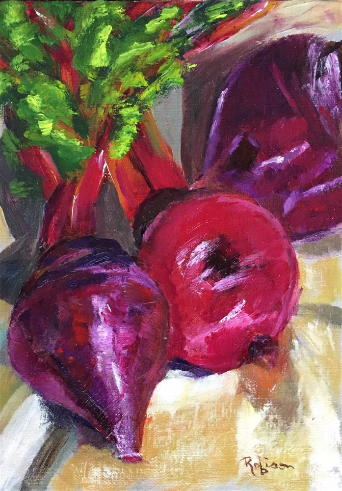 """And the Beet Goes On"" original fine art by Renee Robison"