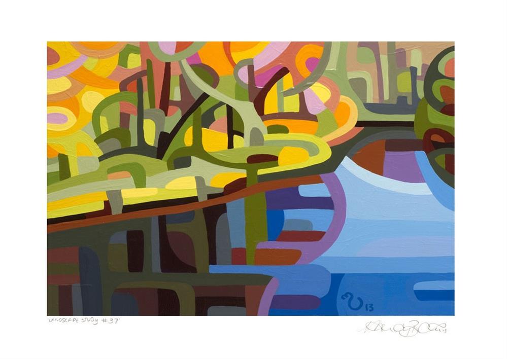 """Landscape Study #37"" original fine art by Mandy Budan"
