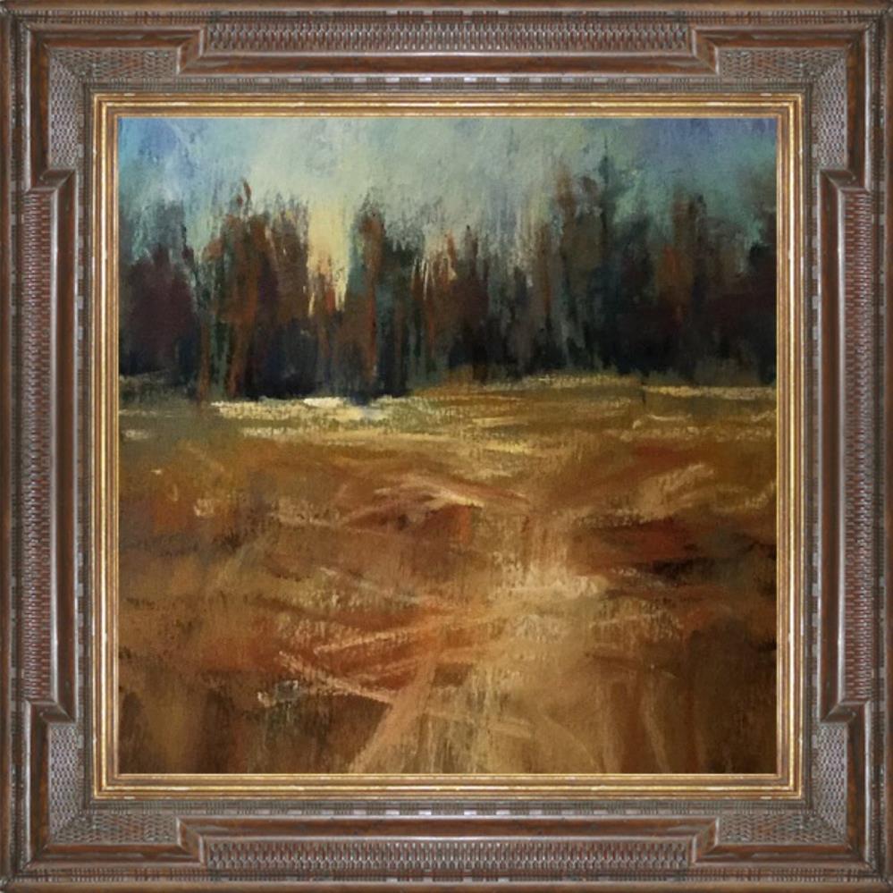 """Fall in Montana"" original fine art by Leora LaGraffe"