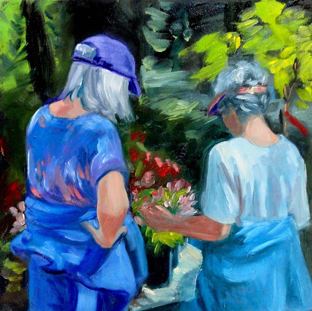 """Roadside Stand"" original fine art by Cietha Wilson"