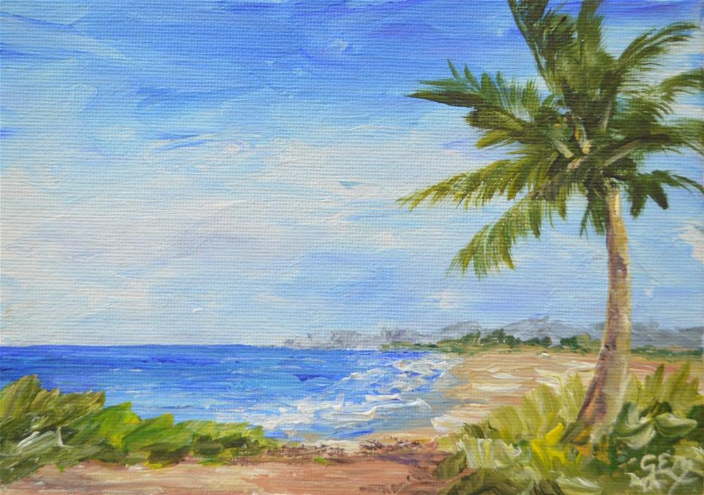 """SALE!!! Pleasant Shores"" original fine art by Gloria Ester"
