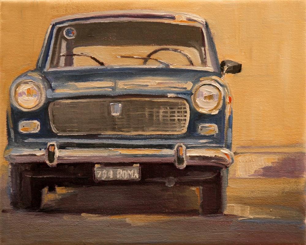 """nice ride"" original fine art by Carol Carmichael"