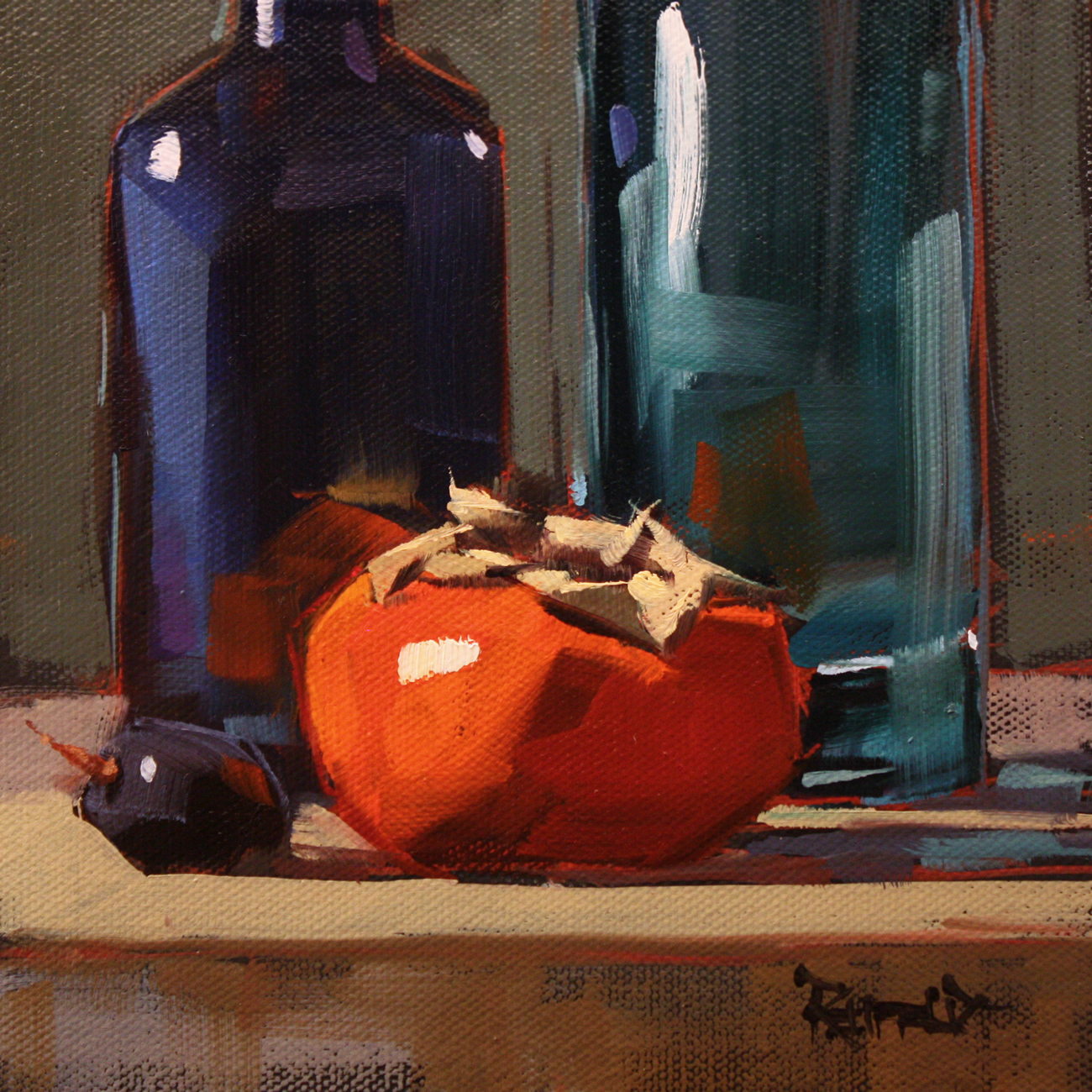 """Break Some Rules"" original fine art by Cathleen Rehfeld"