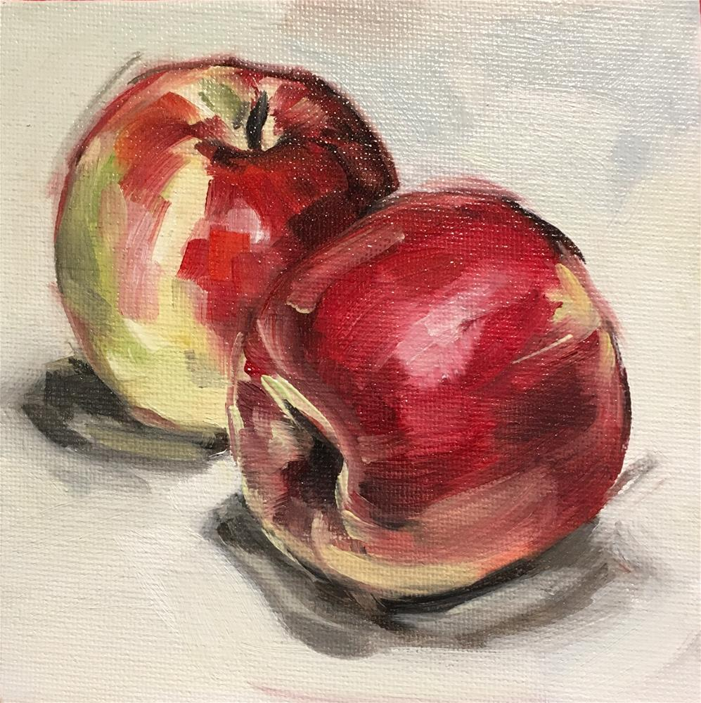 """Apples"" original fine art by Tamanda Elia"