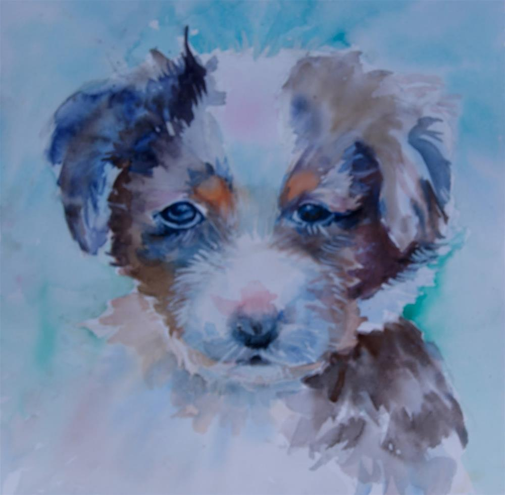 """Soft Whiskers"" original fine art by Reveille Kennedy"