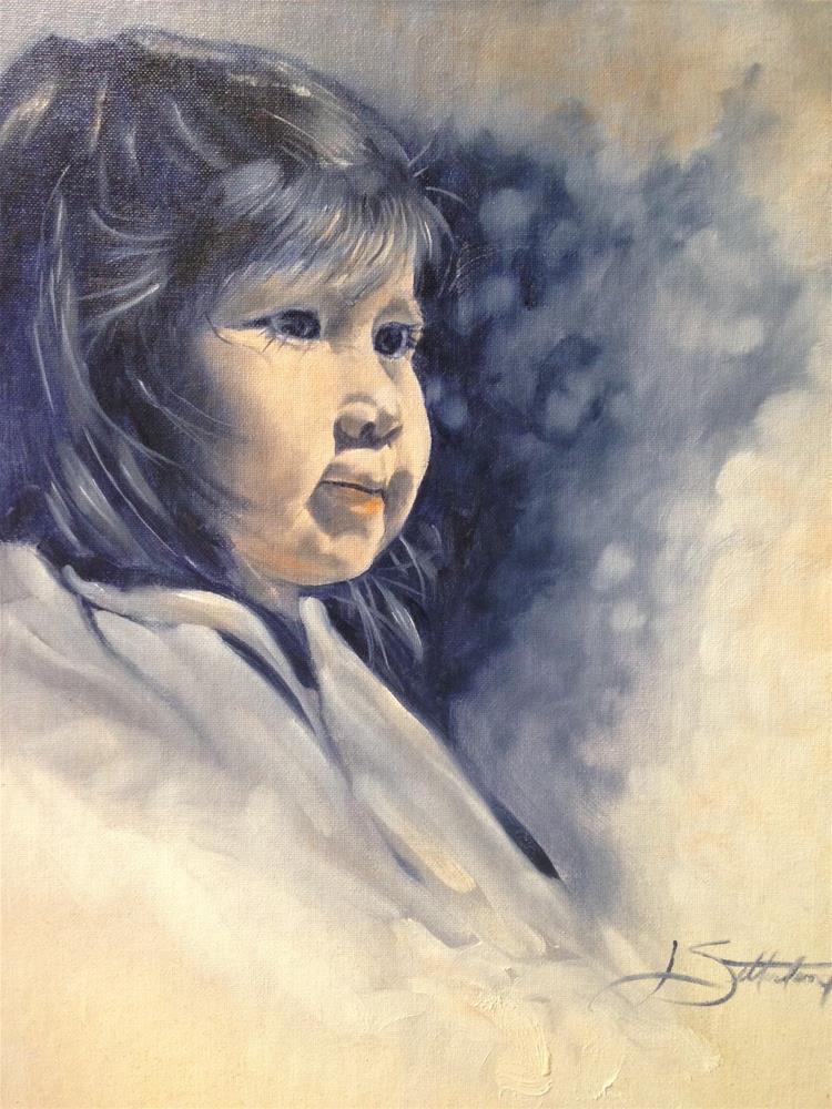 """Audrianna"" original fine art by Janet Setterland"