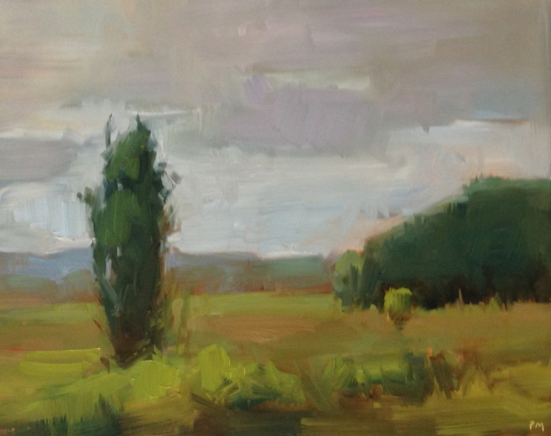 """Coyote Fields Forever"" original fine art by Patti McNutt"