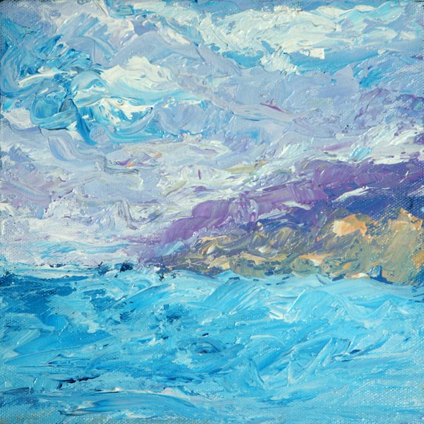 """Coast of Bermuda"" original fine art by Sunny Williams"