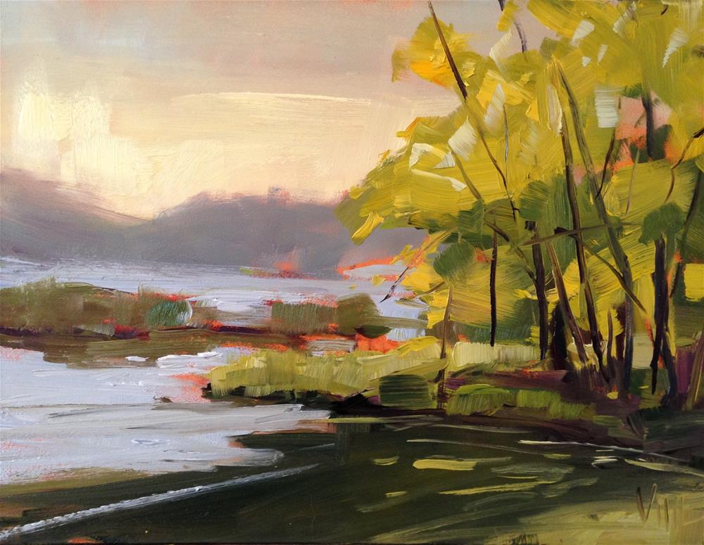 """#184 Sunday in the Park"" original fine art by Patty Voje"
