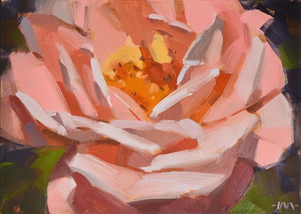 """Rosealicious"" original fine art by Carol Marine"