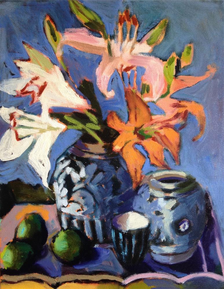 """Three and Three"" original fine art by Pamela Hoffmeister"