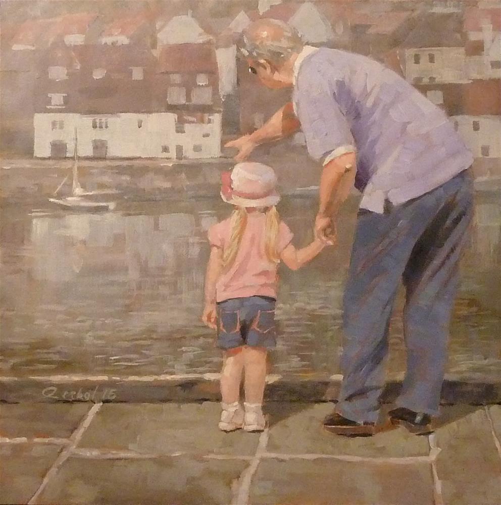 """Same Age - Whitby England"" original fine art by Ron Ferkol"
