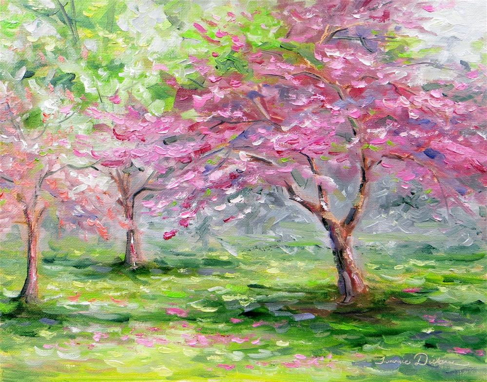 """""""Profusion of Crabapples"""" original fine art by Tammie Dickerson"""