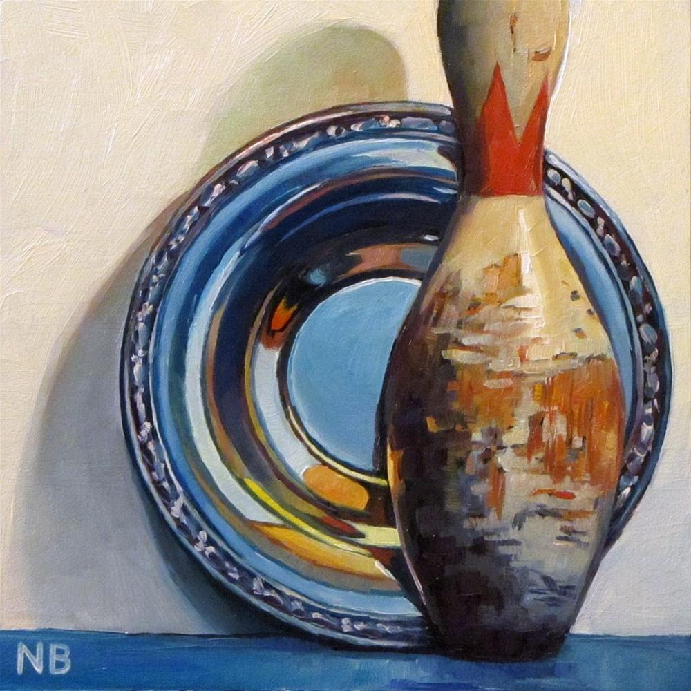 """Strike Over"" original fine art by Nora Bergman"