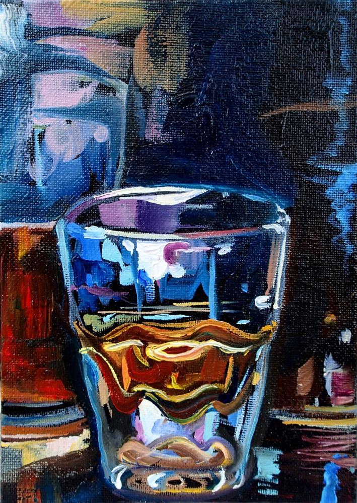 """Whiskey & Rye"" original fine art by Lauren Kuhn"