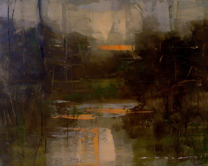 """Last Light"" original fine art by Angel Angelov"