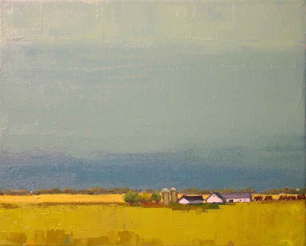 """""""Whispering Lands"""" original fine art by Donna Walker"""