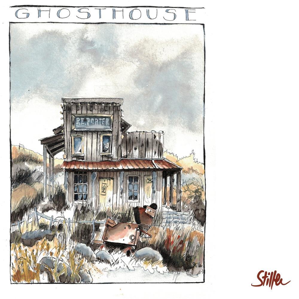 """3461 Ghosthouse (Three)"" original fine art by Dietmar Stiller"