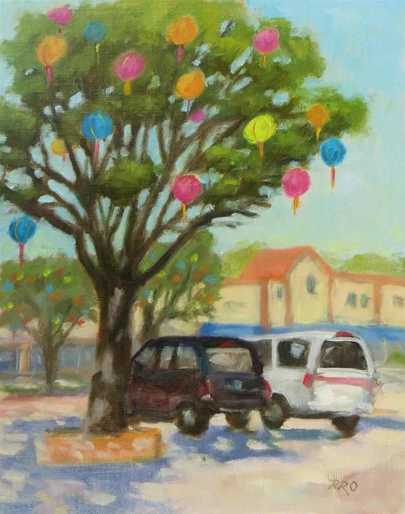 """Celebrating Pacific Grove"" original fine art by Rhett Regina Owings"